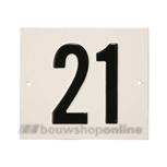 Besbo Huisnummerplaat 21