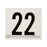 Besbo Huisnummerplaat 22