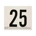 Besbo Huisnummerplaat 25