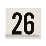 Besbo Huisnummerplaat 26