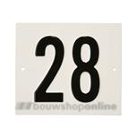 Besbo Huisnummerplaat 28