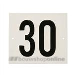 Besbo Huisnummerplaat 30