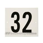 Besbo Huisnummerplaat 32