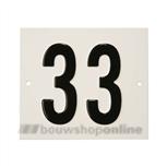 Besbo Huisnummerplaat 33
