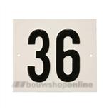 Besbo Huisnummerplaat 36