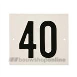 Besbo Huisnummerplaat 40
