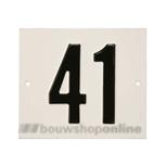 Besbo Huisnummerplaat 41