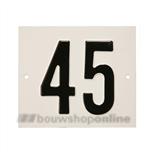 Besbo Huisnummerplaat 45