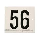 Besbo Huisnummerplaat 56