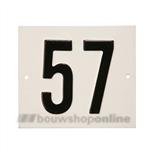 Besbo Huisnummerplaat 57