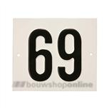 Besbo Huisnummerplaat 69