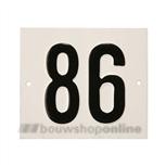 Besbo Huisnummerplaat 86