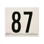 Besbo Huisnummerplaat 87