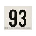 Besbo Huisnummerplaat 93
