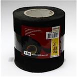 EPDM Rubber folie zwart 0.5 x 1200 mm 20 m lang