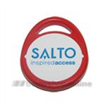 Salto RFID-Tag-Mifare 1Kb roodwit met Salto logo