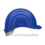 Voss bouwhelm met textiel Voss blauw