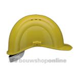 Voss bouwhelm met textiel Voss geel