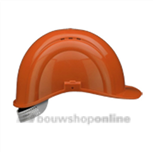 Voss bouwhelm met textiel Voss oranje