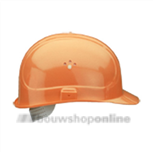 Voss bouwhelm plastic Voss oranje
