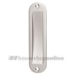 Hermeta schuifdeurkom aluminium 150 x 40 mm ovaal 4562-01