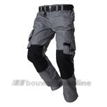 Tricorp Worker/broek Twc-2000 48 grijs/zwart