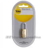 yale y150 combinatie cijferslot hangslot 22mm