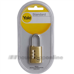 yale y150 combinatie cijferslot hangslot 30mm