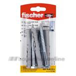 Fischer DHZ SXR10x80SSK kozijnpluggen zesk.kop(4x)