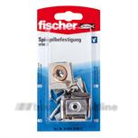 Fischer DHZ SPBE K + SX6 Spiegelbevestiging 91424