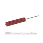 Inslaghulpstuk 316 UNI-Flex plug 392080.B001 rood
