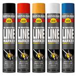 Rust-oleum lijnenmarkeerverfspray wit 2391AE.0.75
