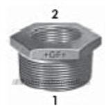 Reductie M/F Zn Fig.241 1X3/4In