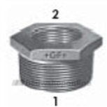 Reductie M/F Zn Fig.241 3/4X1/2In