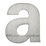 rvs letter a matgeborsteld 92.5 mm 93029