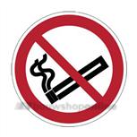 verbodplaat P002 rond20 roken verboden pictogram