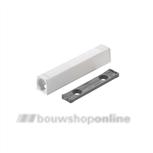 rechte adapterplaat lange TIP-ON zijdewit 956A1004