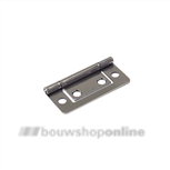 dulimex louvredeurscharnier vernikkeld 50 x 24 mm dx lds500b