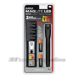 Zaklamp Maglite Mini 2AA LED zwart 168 mm incl2AA