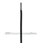Bata veters rond 120 cm zwart