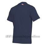ROM88 T-shirt katoen marine-blauw 190gr XXL