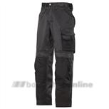 Snickers werkbroek maat 48 zwart/zwart 3312-0404