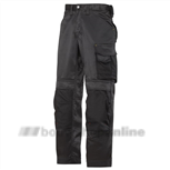 Snickers werkbroek maat 54 zwart/zwart 3312-0404