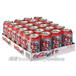 Coca-Cola light 24 x 0.33 L in blik