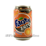 Fanta orange zero 24 x 0.33 L in blik