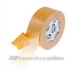 HPX montage-tape textiel 50 mm x 25 m creme