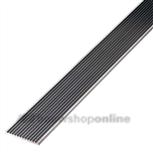 Slijtstripprofiel aluminium Ongeboord 500CM 40x3MM