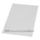 AluArt aluminium vierkantgeperfor.plaat 1000x600 mm 1.0 mm >5<
