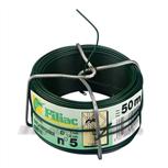 Filiac ijzerdraad groen geplastificeerd 1.5 mm nr.5 (50m)