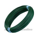 Bekaert binddraad geplastificeerd 2.0 mm groen a 100 m